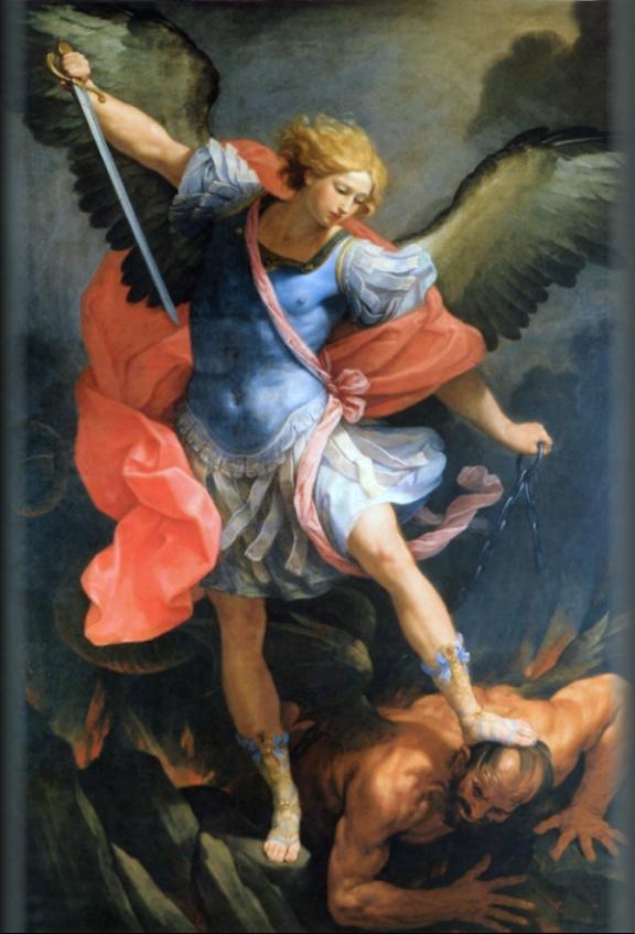 ITP 238: St Michael Archangel by Guido Reni