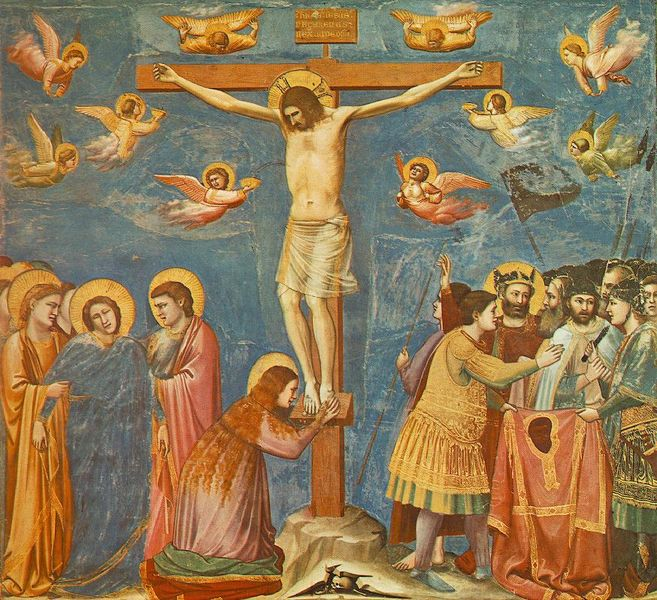 Archives  ITP 255  The Crucifixion by Giotto di BondoneGiotto Di Bondone Frescoes